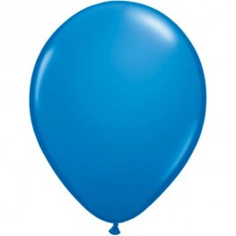 "11"" Dark Blue Latex Balloons 25pk"