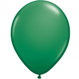 "11"" Green Latex Balloons 25pk"