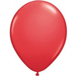 "11"" Red Latex Balloons 25pk"