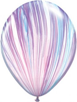 "11"" Fashion Super Agate Latex Balloons 25pk"