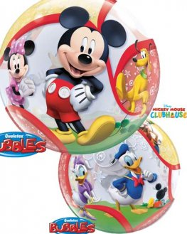"22"" Mickey and His Friends Single Bubble Balloons"