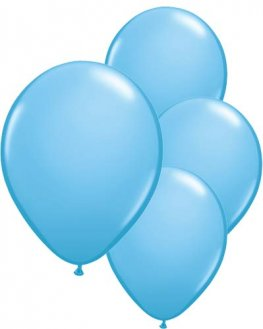 "11"" Pale Blue Latex Balloons 6pk"