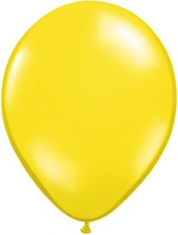 "5"" Citrine Yellow Latex Balloons 100pk"
