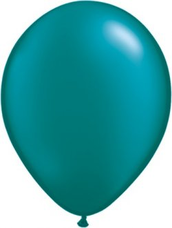 "5"" Pearl Teal Latex Balloons 100pk"
