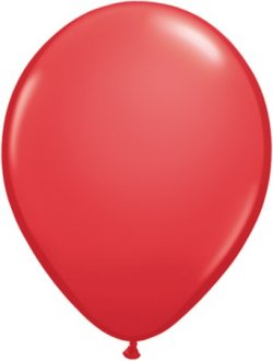 "5"" Red Latex Balloons 100pk"