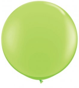 3ft Lime Green Latex Balloons 2pk