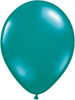 "11"" Teal Latex Balloons 100pk"