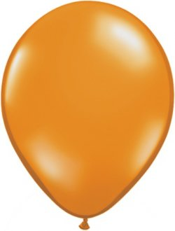 "11"" Mandarin Orange Latex Balloons 100pk"