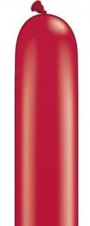 260q Ruby Red Modelling Balloons 100pk