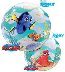 "22"" Disney Finding Dory Single Bubble Balloons"
