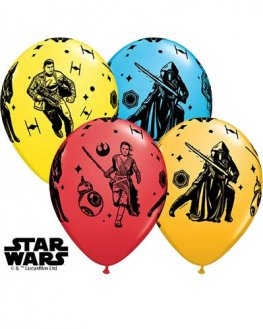 "11"" Star Wars Episode 7 Latex Balloons 25pk"