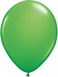 "11"" Spring Green Latex Balloons 100pk"