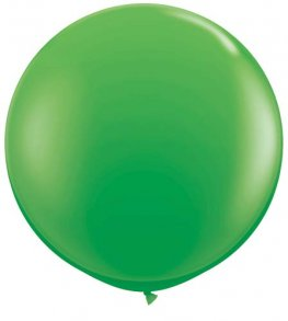 3ft Spring Green Latex Balloons 2pk