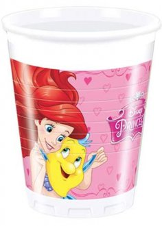 Disney Princess Plastic Cups 8pk
