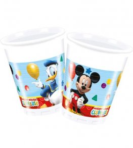 Playful Mickey Plastic Cups 8pk