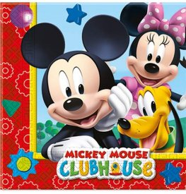 Playful Mickey Paper Napkins 20pk