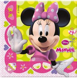 Disney Minnie Mouse Paper Napkins 20pk