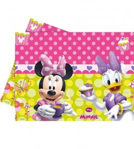 Disney Minnie Mouse Plastic Tablecover 1pk