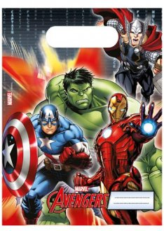 Avengers Power Party Bags 6pk