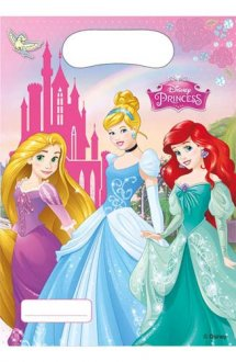 Disney Princess Party Loot Bags 6pk