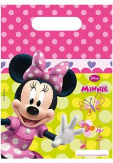 Disney Minnie Mouse Party Loot Bags 6pk