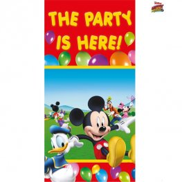 Playful Mickey Door Banner