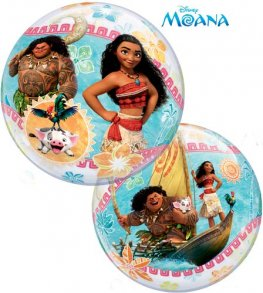 "22"" Disney Moana Single Bubble Balloons"