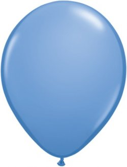 "11"" Periwinkle Blue Latex Balloons 100pk"