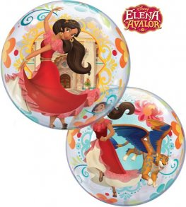 "22"" Elena Of Avalor Single Bubble Balloons"