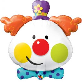 Cute Clown Supershape Balloons