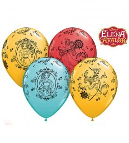 "11"" Elena Of Avalor Cameos Latex Balloons 25pk"