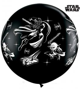 3ft Star Wars Giant Latex Balloons 2pk