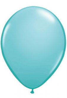 "11"" Caribbean Blue Latex Balloons 100pk"