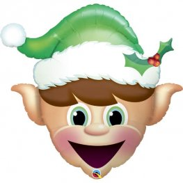 Christmas Elf Supershape Balloons
