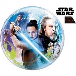 "22"" Star Wars The Last Jedi Single Bubble Balloons"