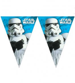 Star Wars Triangle Flag Banner