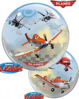 "22"" Disney Planes Single Bubble Balloons"