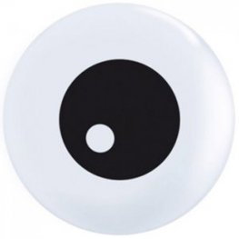 "5"" Friendly Eyeball Latex Balloon 100pk"