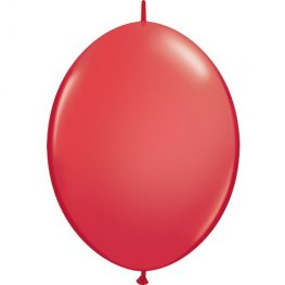 "12"" Red Quick Link Latex Balloons 50pk"