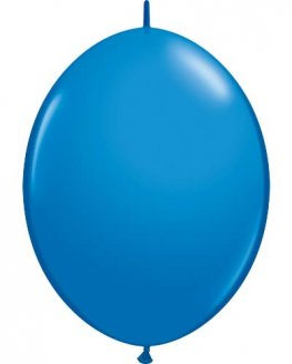 "12"" Dark Blue Quick Link Latex Balloons 50pk"