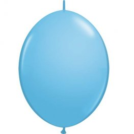 "12"" Pale Blue Quick Link Latex Balloons 50pk"