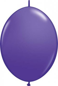 "12"" Purple Violet Quick Link Latex Balloons 50pk"