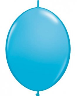 "12"" Robins Egg Blue Quick Link Latex Balloons 50pk"