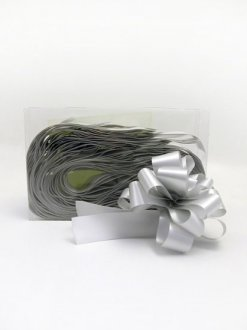 2 Inch Silver Pull Bows x20