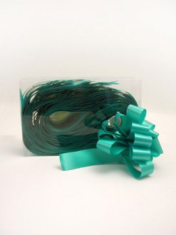 2 Inch Emerald Green Pull Bows x20
