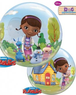 "22"" Doc McStuffins Single Bubble Balloons"