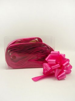 2 Inch Hot Pink Pull Bow x20