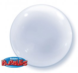 "24"" Clear Deco Bubble Balloons"