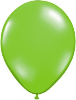 "11"" Jewel Lime Green Latex Balloons 100pk"