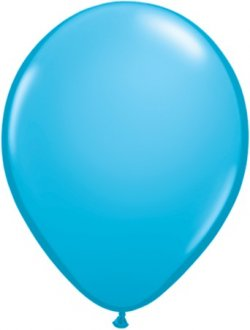 "11"" Robins Egg Blue Latex Balloons 100pk"